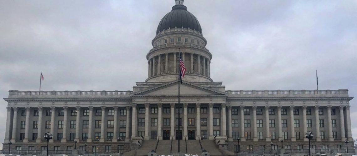 Utah Capitol January 2019