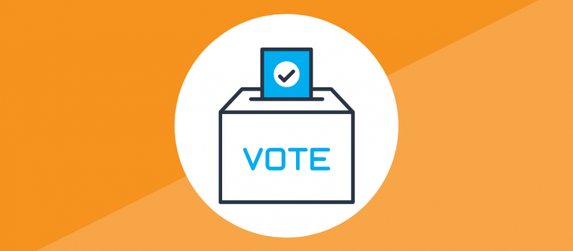 Vote. Track. Share.